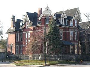Croul–Palms House - Image: Croul Palms House Detroit MI 2
