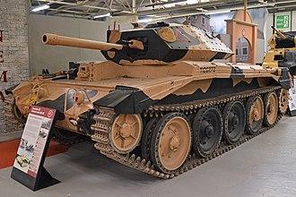 Crusader tank - A Crusader III on display