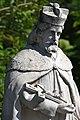 Csolnok, Nepomuki Szent János-szobor 2021 08.jpg