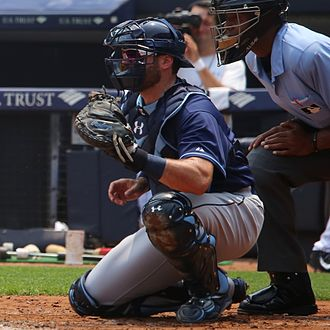 Curt Casali - Casali with the Tampa Bay Rays