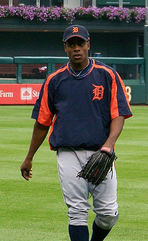 Curtis Granderson - Granderson with the Detroit Tigers in 2007