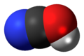 Cyanic acid 3D spacefill.png