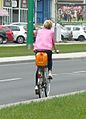 Cycling in Poznan 2012.JPG