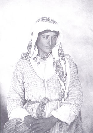 Turks in Europe - A Turkish Cypriot woman in 1878.