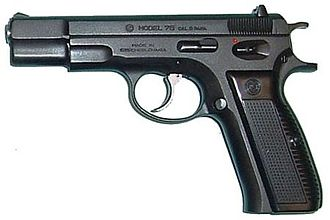 "CZ 75 - ""Pre-B"" version of the CZ 75."