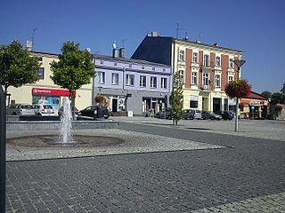 Czeladź Place in Silesian Voivodeship, Poland