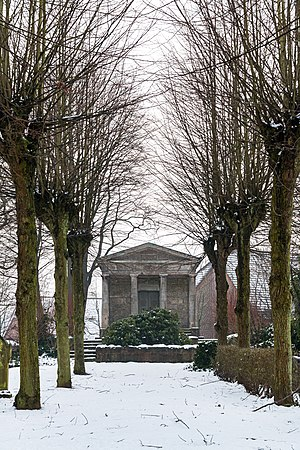 Jewish cemetery, Dülmen, North Rhine-Westphalia, Germany