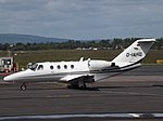 D-IAHG Cessna Citation CJ1 AHG Handel & Logistik Gmbh & Co (35759579772).jpg