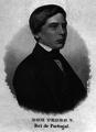 D. Pedro V, Rei de Portugal - Gravura sobre aço de Carl Mayer.png