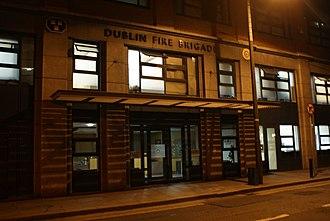 Dublin Fire Brigade - Image: DFBHQ1