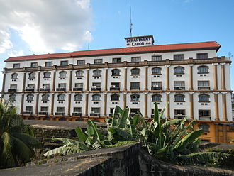 Department of Labor and Employment (Philippines) - Facade, DOLE