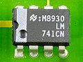 DOV-1X - National Semiconductor LM741CN on printed circuit board-9801.jpg