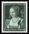 DR 1939 700 Tag der Deutschen Kunst, Junge Venezianerin von Albrecht Dürer.jpg