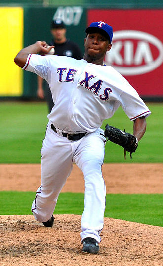 Neftalí Feliz - Feliz pitching for the Texas Rangers in 2009