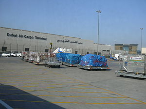 This is a photo showing the Dubai Air Cargo Te...