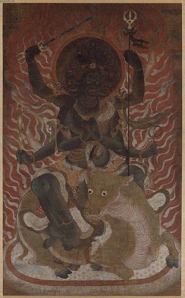 File:Daiitoku myoo, the Wisdom King of Great Awe-inspiring Power.jpg