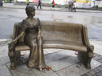 Daisy, Princess of Pless - Memorial to Daisy in Pszczyna, Poland