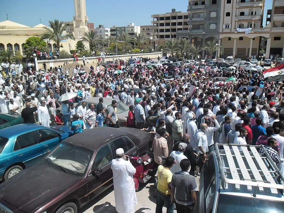 Damietta protests