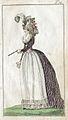 Dammode. Kvinna i kläder från sent 1700-tal (1792) - Nordiska Museet - NMA.0041098.jpg