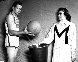 Dan Pippin - Pippin (left) at the University of Missouri in 1949 with sister Nancy