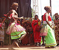 Dancers for the queen of Rwenzururu.JPG