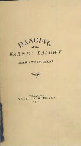 File:Dancing - karnet balowy Marji Pawlikowskiej.djvu