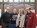 Daniel Spils, Mark Vail, George Mattson, Steve Fisk, PNW SynthFest 2013.jpg
