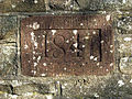 Date stone on a well at Galashiels Golf Course - geograph.org.uk - 756163.jpg