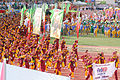 Davao Region delegates during Palarong Pambansa 2015 Opening Ceremony.jpg