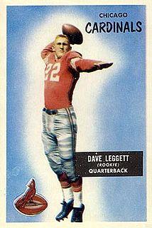 Dave Leggett American football player