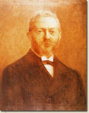 David Kaufmann - David Kaufmann (1852–1899), portrait by Izidor Thein.