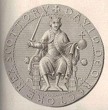 Sigillo di re Davide I di Scozia