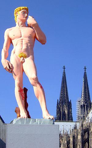 """Hans-Peter Feldmann - Hans-Peter Feldmann: """"David"""" (2006) in Cologne"""