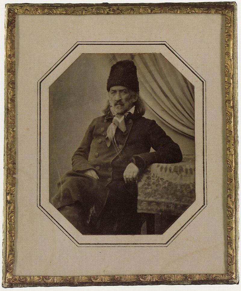 Davignon, Alfred - Der Großfürst Sergej Grigor'evič Volkonskij, der als Dekabrist nach Irkutsk in Sibirien verbannt worden war. Irkutsk (Zeno Fotografie).jpg