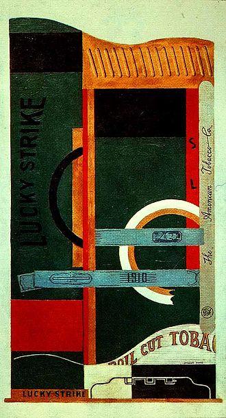 Stuart Davis (painter) - Image: Davis Stuart Lucky Strike 1921