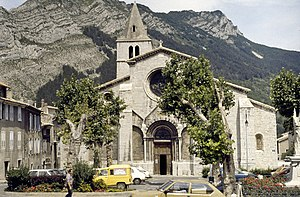 Sisteron Cathedral - Sisteron Cathedral
