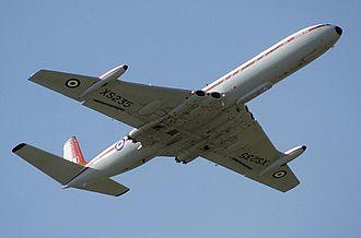 Jet airliner - The de Havilland Comet, the first purpose-built jet airliner