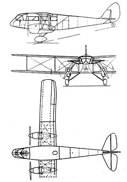De Havilland DH 84 3-view L'Aerophile February 1933.jpg