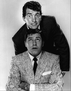 Dean Martin - Martin and Lewis in 1955