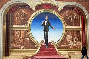 Dean Martin - Mural of Dean Martin in Steubenville, Ohio