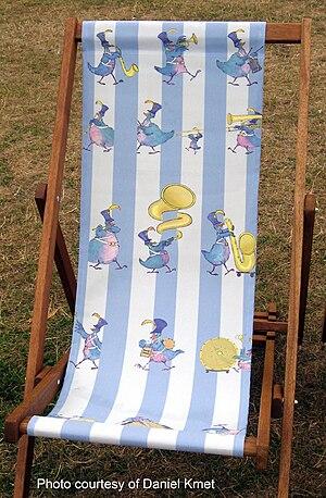 Royal Parks Foundation - 2010 Deckchair by Alexander Williams.