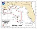 Deepwater Horizon Oil Spill Fishing Closure 2010-05-25.png