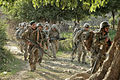 Defense.gov News Photo 110614-A-RR514-029 - Afghan soldiers and their U.S. counterparts march toward Gerekheyl village during an early morning patrol in Nangarhar province Afghanistan on.jpg