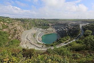 Delabole - Delabole slate quarry