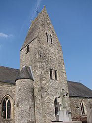 The Denneville church