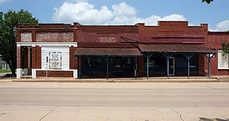 Depew, Oklahoma - Historic US 66 as it passes through Depew