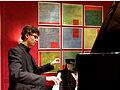 Der junge Pianist Evgeni Petrichev bei seinem Konzert im Roten Saal des Deutschordensschlosses Bad Mergentheim. 01.jpg