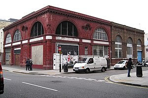Euston tube station - Image: Derelict Underground station geograph.org.uk 1547918