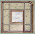 Design for the decoration of a ceiling with a central panel of painted clouds MET DP811392.jpg