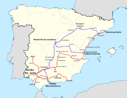 Destinations from Sevilla-Santa Justa Station.svg